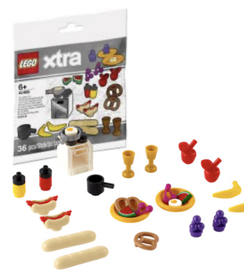 £6.95 • Buy LEGO Creator Xtra 40465 Food Accessories  - Xtra - Polybag - Sealed