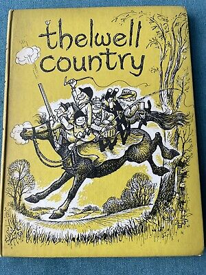£24 • Buy Thelwell Country Book 1st Edition 1959 Hardback No Dust Jacket VVGC