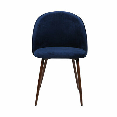 AU145.74 • Buy 2x Dining Chairs Seat French Provincial Kitchen Lounge Chair Navy