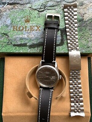 $ CDN1016.22 • Buy Rolex Oyster Perpetual Datejust 1603 Vintage 36mm Stainless Steel Men's Watch