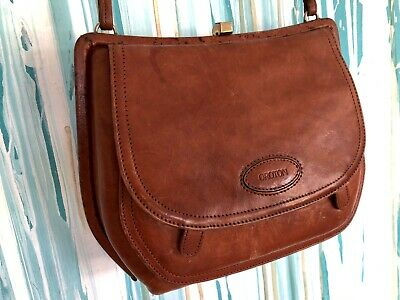 AU49.90 • Buy Vintage Oroton Leather Handbag Shoulder Bag Purse