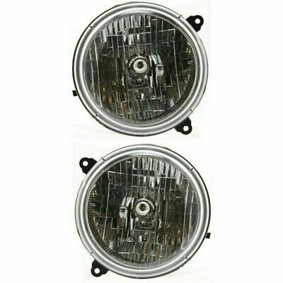 $66.61 • Buy For Jeep Liberty 2002 2003 2004 Headlights Right & Left Pair