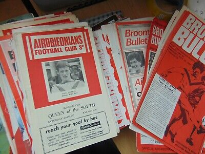 £1.99 • Buy Airdrie United / Airdrieonians Programmes - Choose From Menu - UPDATED 20/4/2021