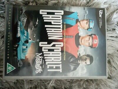 £12 • Buy Captain Scarlet And The Mysterions - Complete Collection ---- 6-disc DVD Boxset