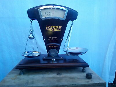 £159.99 • Buy Vintage Avery Tobaccanist Scales Weigh To 1 Lb. With Weights