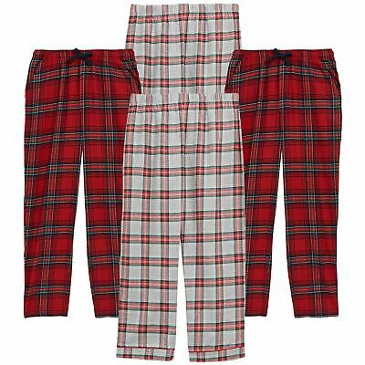 £8.99 • Buy M&S Mens Flannel Pyjama Trousers Check Brushed Cotton Bottoms PJ's Lounge Pants