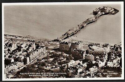 £5.95 • Buy BRIGHTON Postcard Palace Pier & Old Steine From The Air