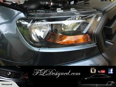 AU129 • Buy 2015-2019+ Ford PX2&3 Ranger /Everest/ Raptor CLEAR Headlight Protectors,Covers