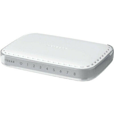 AU29 • Buy Netgear GS608 8-Port Gigabit Ethernet Switch | 3mth Wty