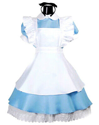 £13.99 • Buy Girls Alice Costume Teen Child Alice Wonderland Book Day Fancy Dress Outfit