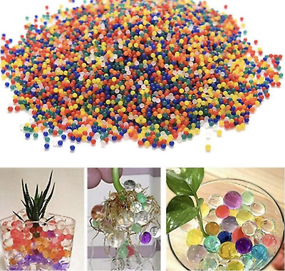 AU7.14 • Buy 10000 Orbeez Water Aqua Soil Crystal Bio Gel Balls Beads Decoration Vase Filler