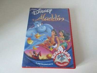 £2.25 • Buy Disney Aladdin Read-Along Storybook And CD Paperback Book