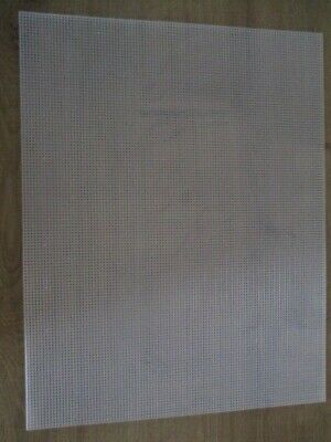 £4.95 • Buy 10 Count Plastic Canvas 13.5  X 10.5  Choice Of 1, 2, 5 Or 12 Sheets