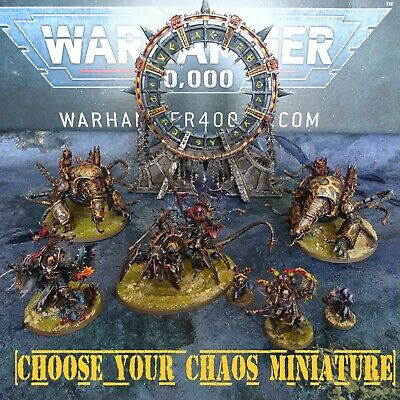 £75 • Buy Well Painted CHAOS MULTILIST - Warhammer 40k Figures & Units - GW  CR13Mark