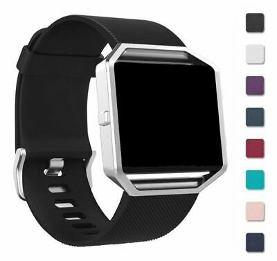 AU6.05 • Buy For FITBIT BLAZE STRAP Replacement Wrist Band Metal Buckle Various Colour