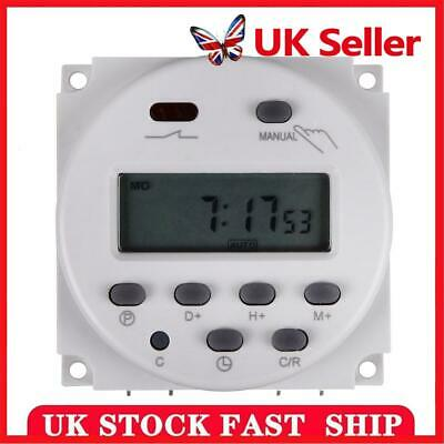 £7.58 • Buy DC 12V Digital Power Electric Programmable Outlet Timer Plug Switch Indoor Relay