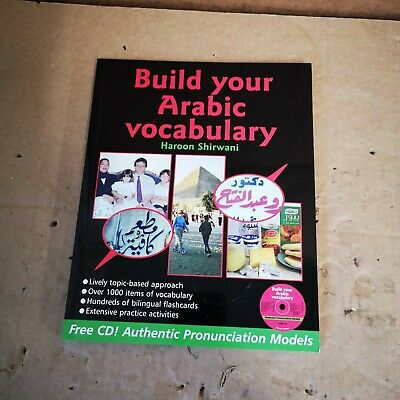 £11.95 • Buy Build Your Arabic Vocabulary (Book CD & Flashcards) Paperback Book