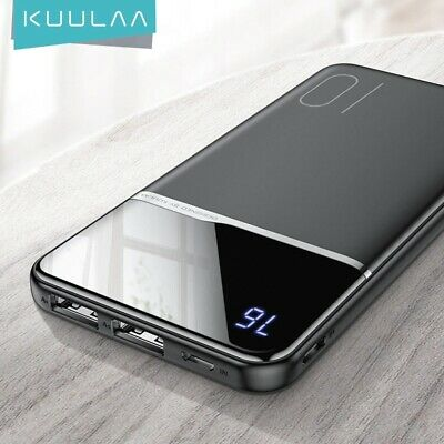 AU63.75 • Buy NEW 100000mAh Dual USB Portable External Charger Power Bank For Cell Phone