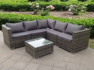 £849.99 • Buy Rattan Wicker Garden Outdoor Cube Table And Chairs Furniture Patio Modular Set