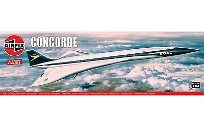 £20.95 • Buy A05170V Airfix Concorde 1:144 Scale Plastic Plane Aircraft Model Kit New Boxed