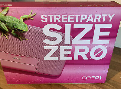 £15 • Buy STREETPARTY SIZE 0 SUPER SLIM PORTABLE SPEAKER FOR IPOD & IPHONE BRAND NEW