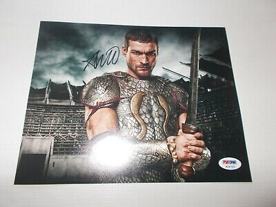 Andy Whitfield / Spartacus Blood Sand Signed Photo Original Autograph PSA/DNA • 601.96£