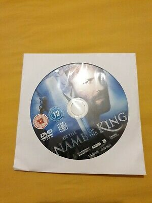 £1 • Buy In The Name Of The King (DVD) (2008) (Jason Statham) Disc Only