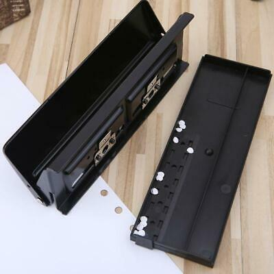 AU26.43 • Buy 6 Hole Punch Paper Craft Cutter Adjustable DIY A4 A5 A6 Loose-Leaf Paper Puncher