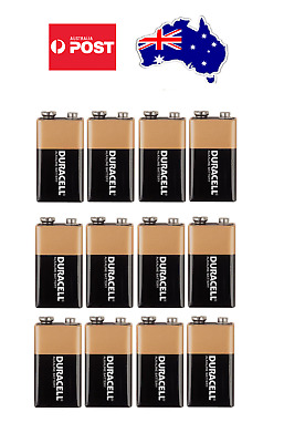 AU40.90 • Buy Duracell 9V MN1604 DURALOCK Alkaline Battery Energizer Coppertop Brand New
