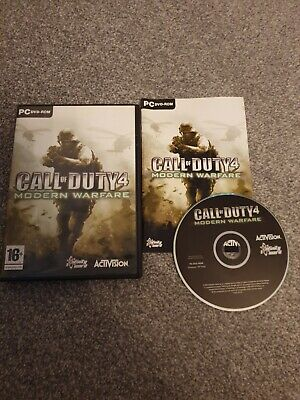 £3.75 • Buy Call Of Duty 4 Modern Warfare For PC DVD Rom Game - Classic Shooter