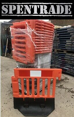 £25 • Buy Road Barriers Oxford Strongwall Traffic Management Safety Barrier @ £25+vat