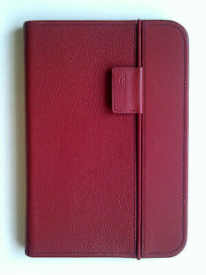 Amazon Red Leather Lighted Cover Case For Kindle Keyboard Model D00901 3rd Gen • 7.99£