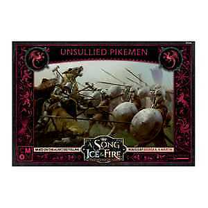 £34.99 • Buy Unsullied Pikemen A Song Of Ice And Fire Miniatures Game New And Sealed