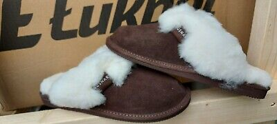 £11 • Buy Womans Slippers Real Leather Sheepskin 100% Natural