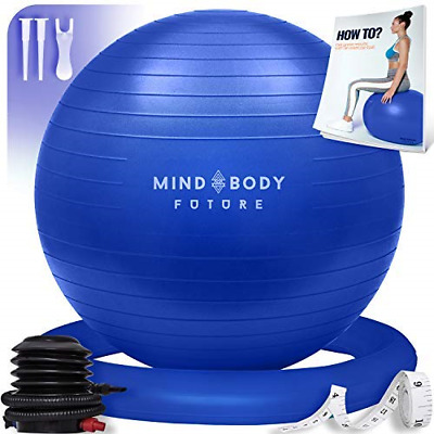 Yoga Ball Chair - Exercise Ball & Stability Ring. For Pregnancy, Balance, Or Use • 31.38£
