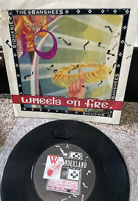 """£1.99 • Buy Single Vinyl - Siouxsie And The Banshees -  Wheels Of Fire   Vinyl 7"""" Single VG+"""