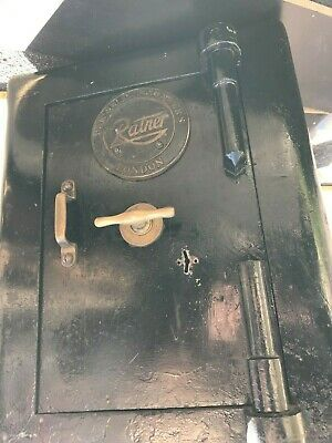 £175 • Buy Bankers' Engineers Ratner London Antique SAFE With Key