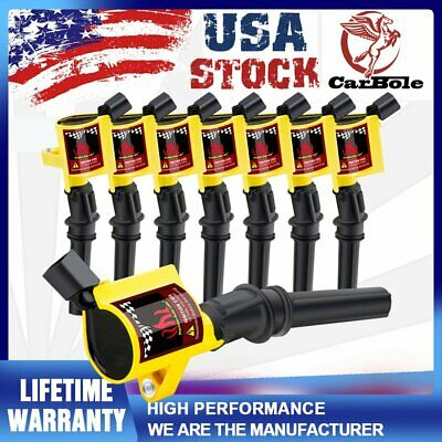 $37.59 • Buy Set Of 8 Ignition Coils For Ford F150 Expedition Mustang Excursion Marquis DG508