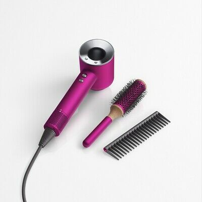 AU399 • Buy Certified Refurbished - Dyson Supersonic™ Hair Dryer Fuchsia With Brush Set