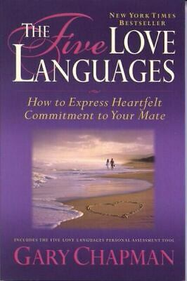 AU6.44 • Buy The Five 5 Love Languages By Gary Chapman