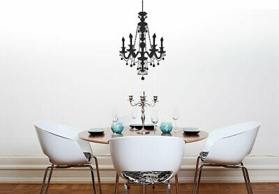 £18.99 • Buy Chandelier V2 Wall Decal Sticker Decorative Dining Or Living Room Sticker