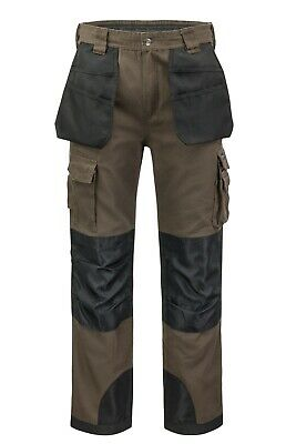 $19.95 • Buy Utility Men's Cargo Work Pants 12 Tool Pockets And Reinforced Knees