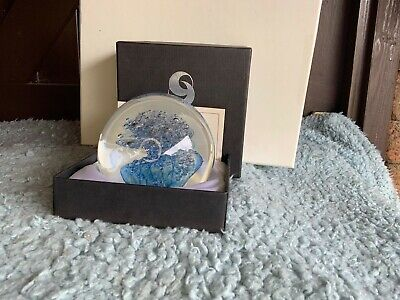 £30 • Buy Selkirk Glass Paperweight Limited Edition ICE SPIRAL 155/500