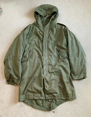 $148 • Buy US Army M-1951 Parka Shell & Liner 1952 Dated Fishtail