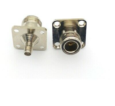 £4.45 • Buy SMA Female To N Type Female Socket Chassis Panel Mount Adaptor  525