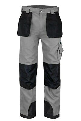 $19.95 • Buy Utility Men's Cargo Work Pants 10 Tool Pockets And Reinforced Knees