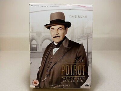 £65.14 • Buy Agatha Christie's Poirot - Complete Collection 32-Disc Set **Region 2**