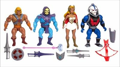 $89.97 • Buy Super7 Masters Of The Universe MOTU Wave 1 Set  HE-MAN, SKELETOR, HORDAK, SHE-RA