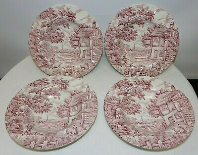 £17.74 • Buy The Hunter By Myott Hand Engraved Hand Painted Soup/Pasta Plates Set Of 4