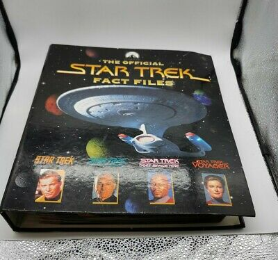 £18 • Buy Star Trek Fact Files - Issues 3-18 With Binder
